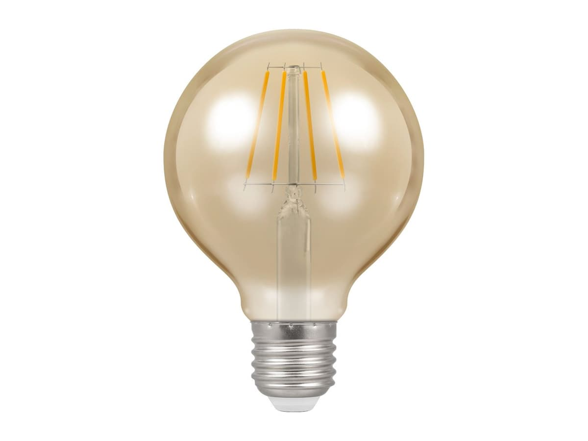 5w ES 80mm Globe Dimmable LED Filament – Crompton