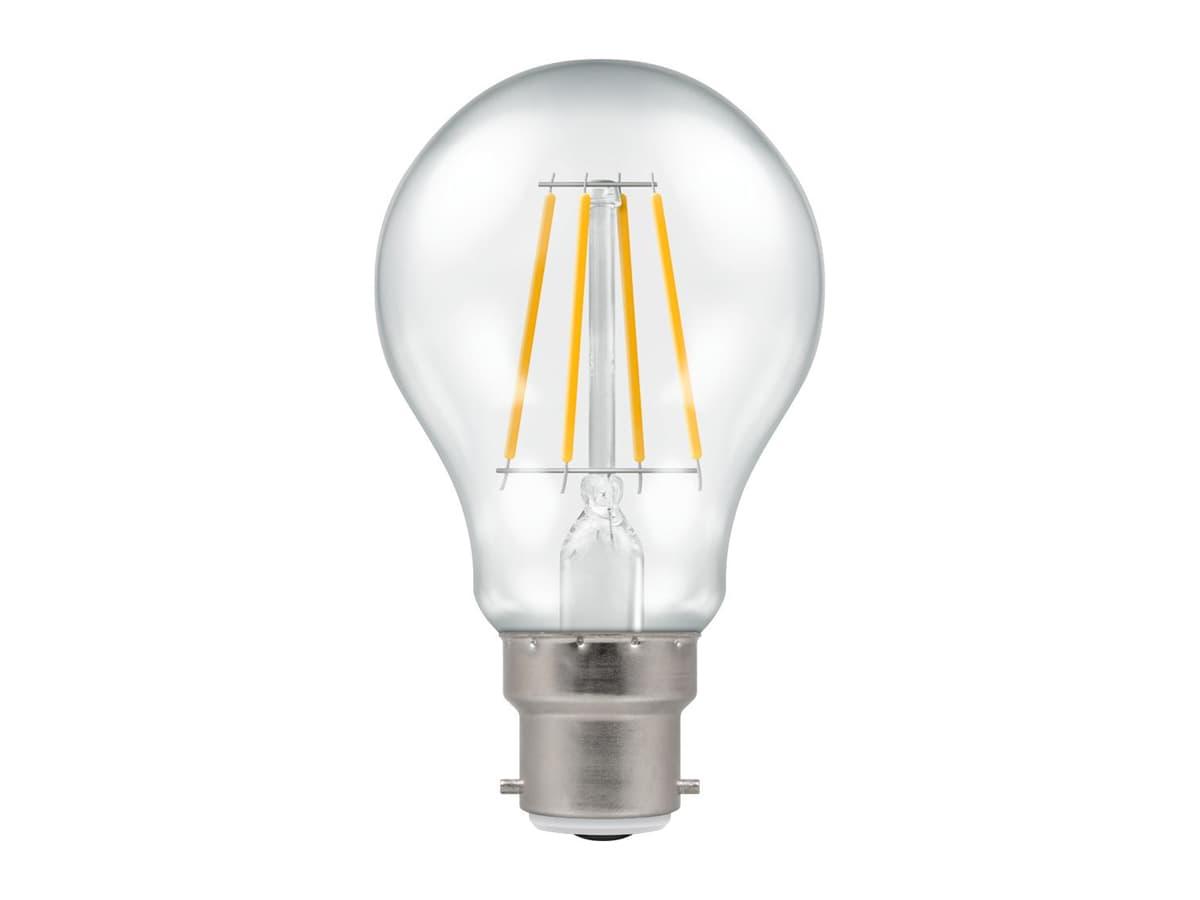 7.5w BC GLS LED Filament Crompton