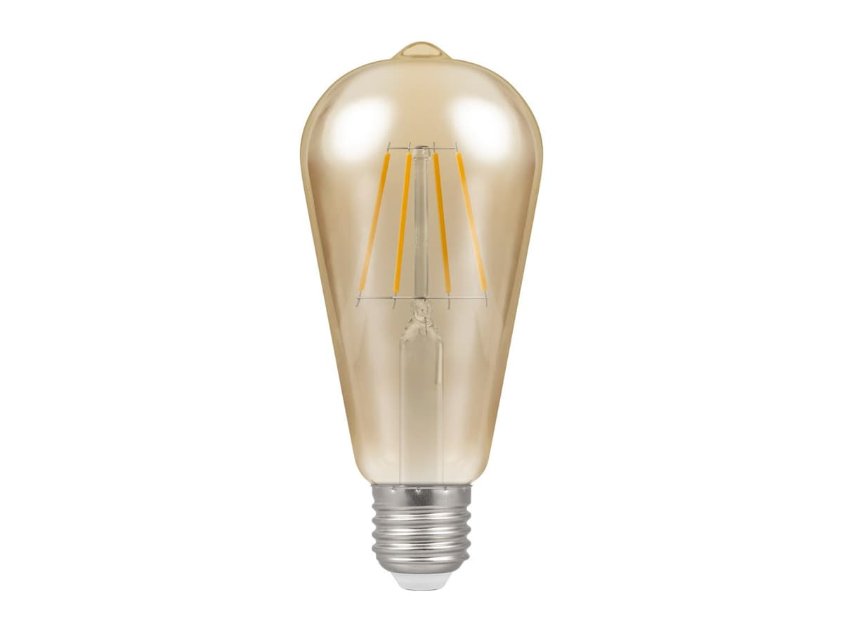 7.5w ES Squirrel Cage Dimmable LED Filament – Crompton
