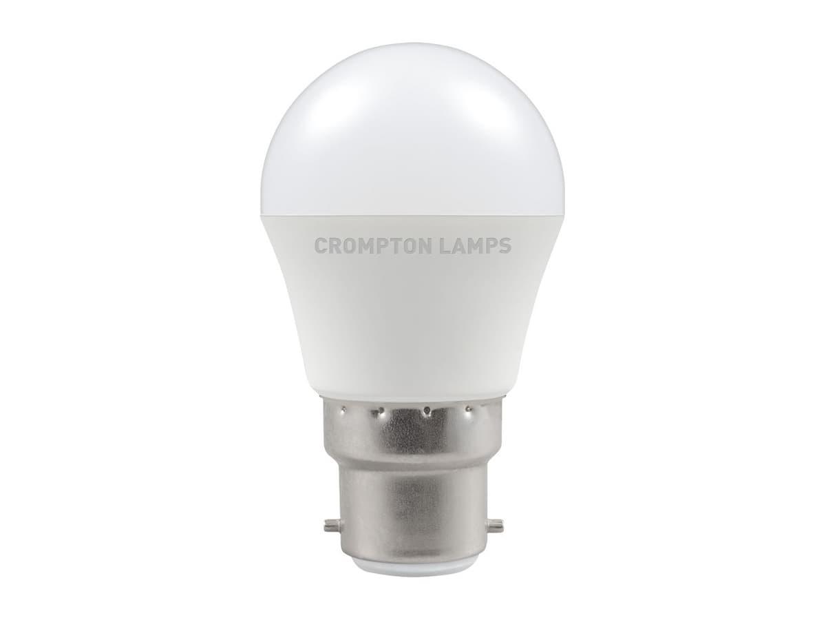 5.5w BC LED Round / Golfball – Crompton