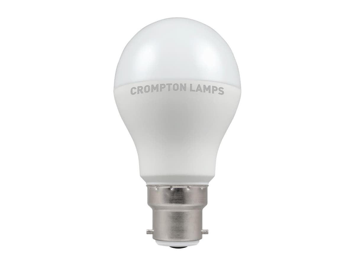 12w Dimmable Crompton LED GLS BC 4000k