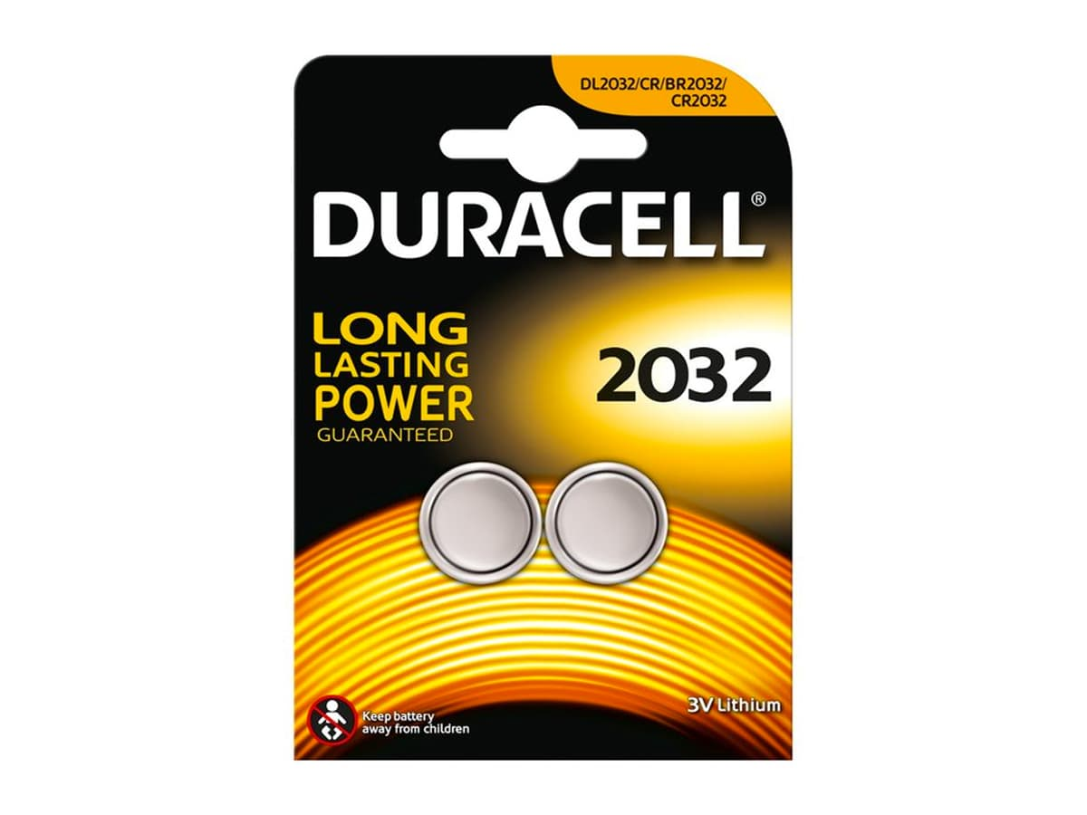 Duracell CR2032 Button Battery – 2 Pack