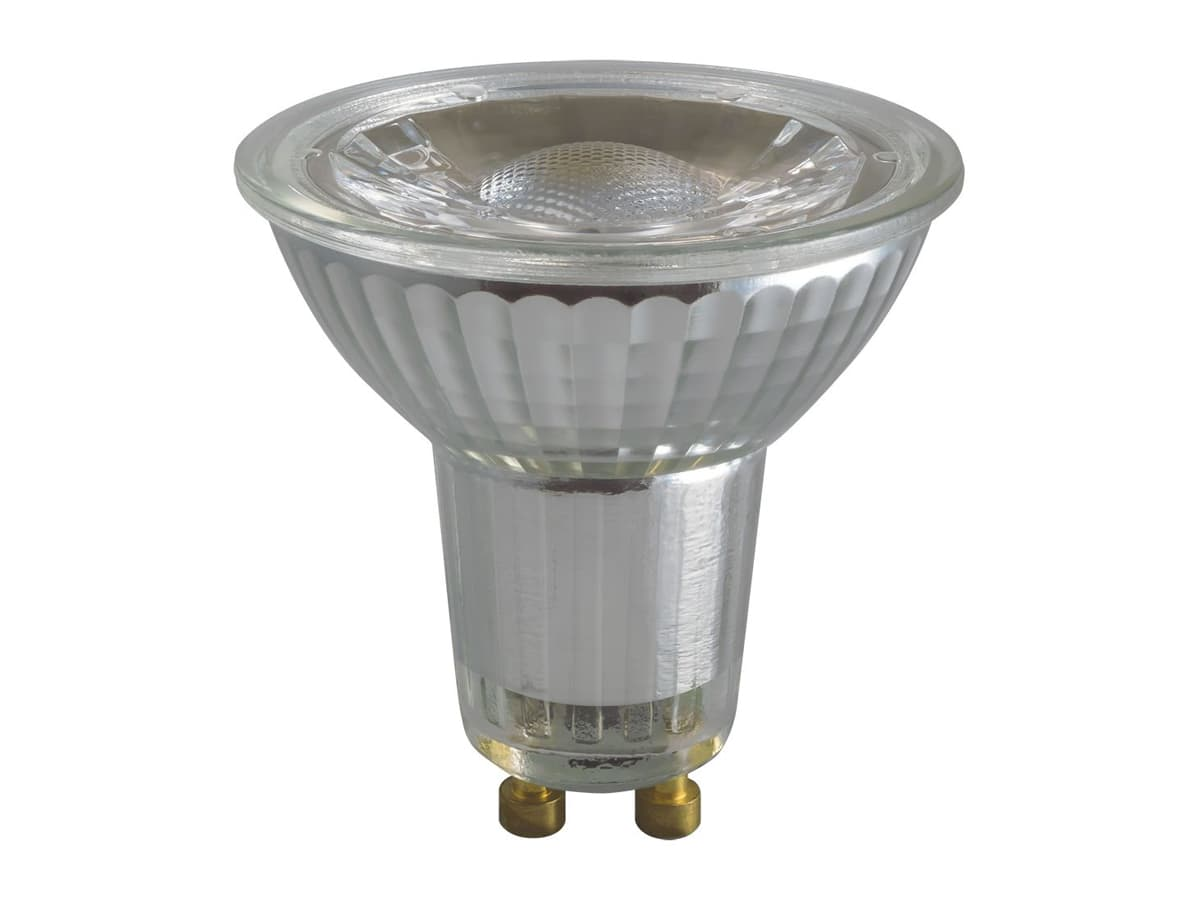 6w GU10 Glass LED COB Dimmable – Crompton