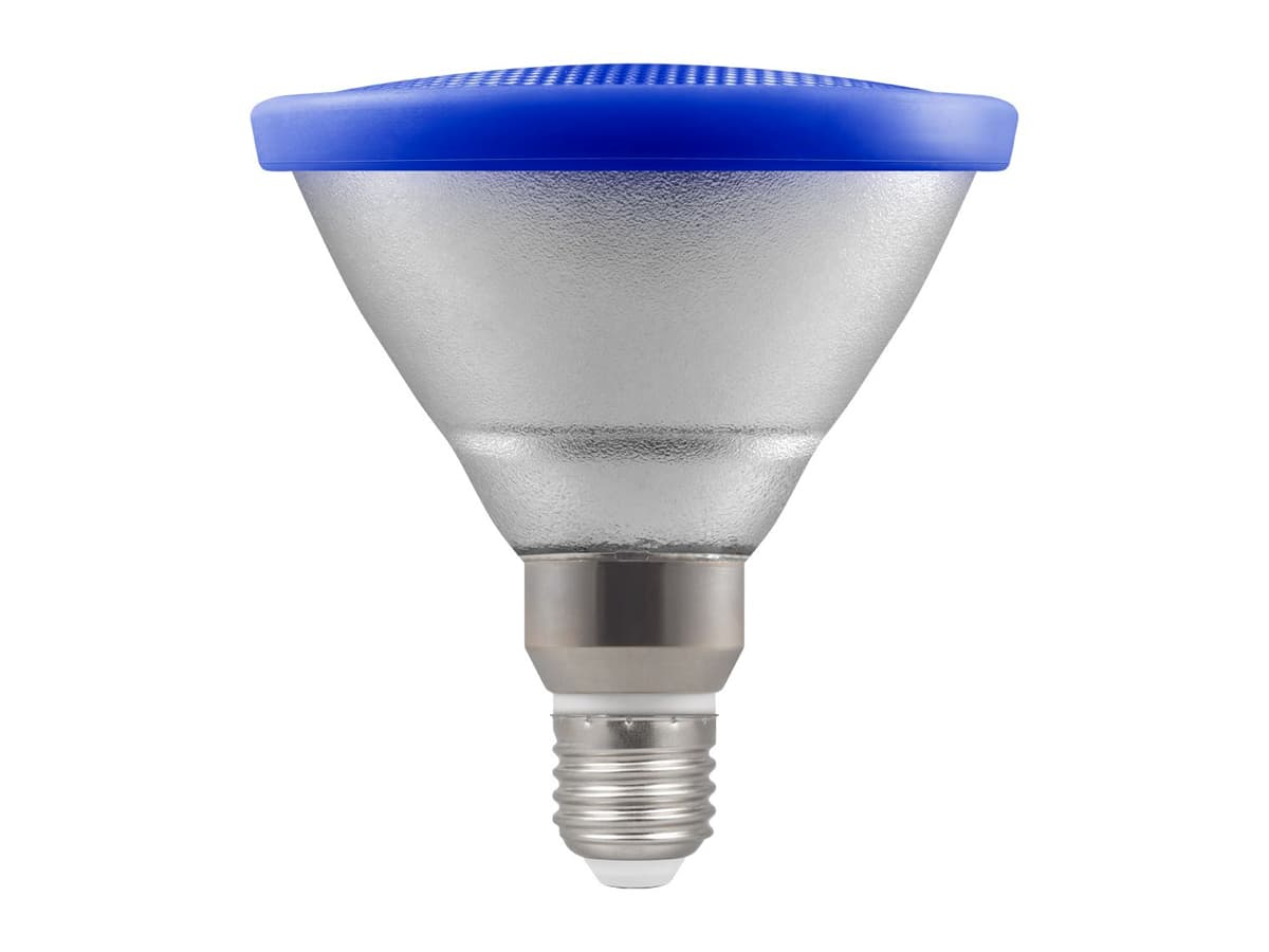 13w Par38 LED Coloured Reflector Lamp – Blue
