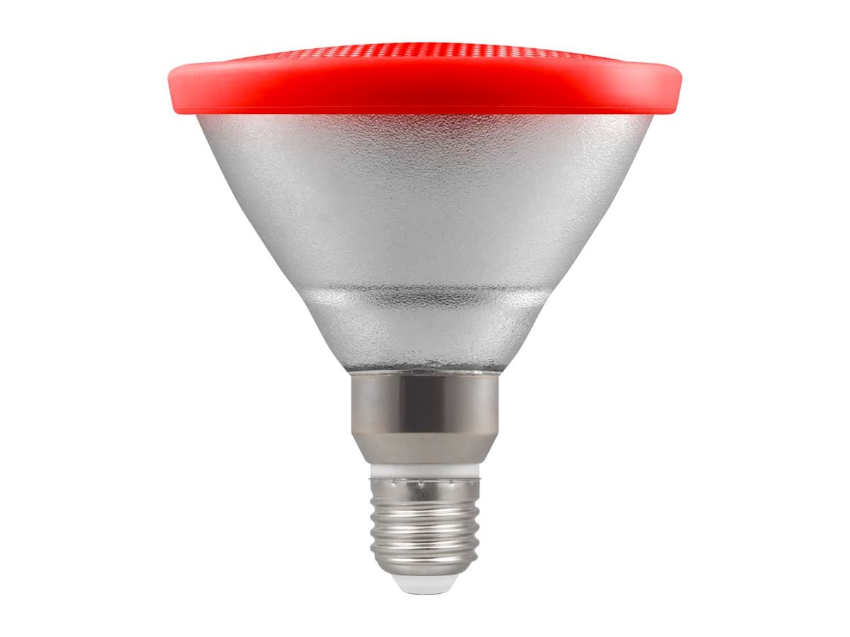 13w Par38 LED Coloured Reflector Lamp – Red