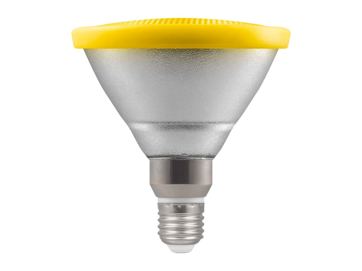 13w Par38 LED Coloured Reflector Lamp – Yellow