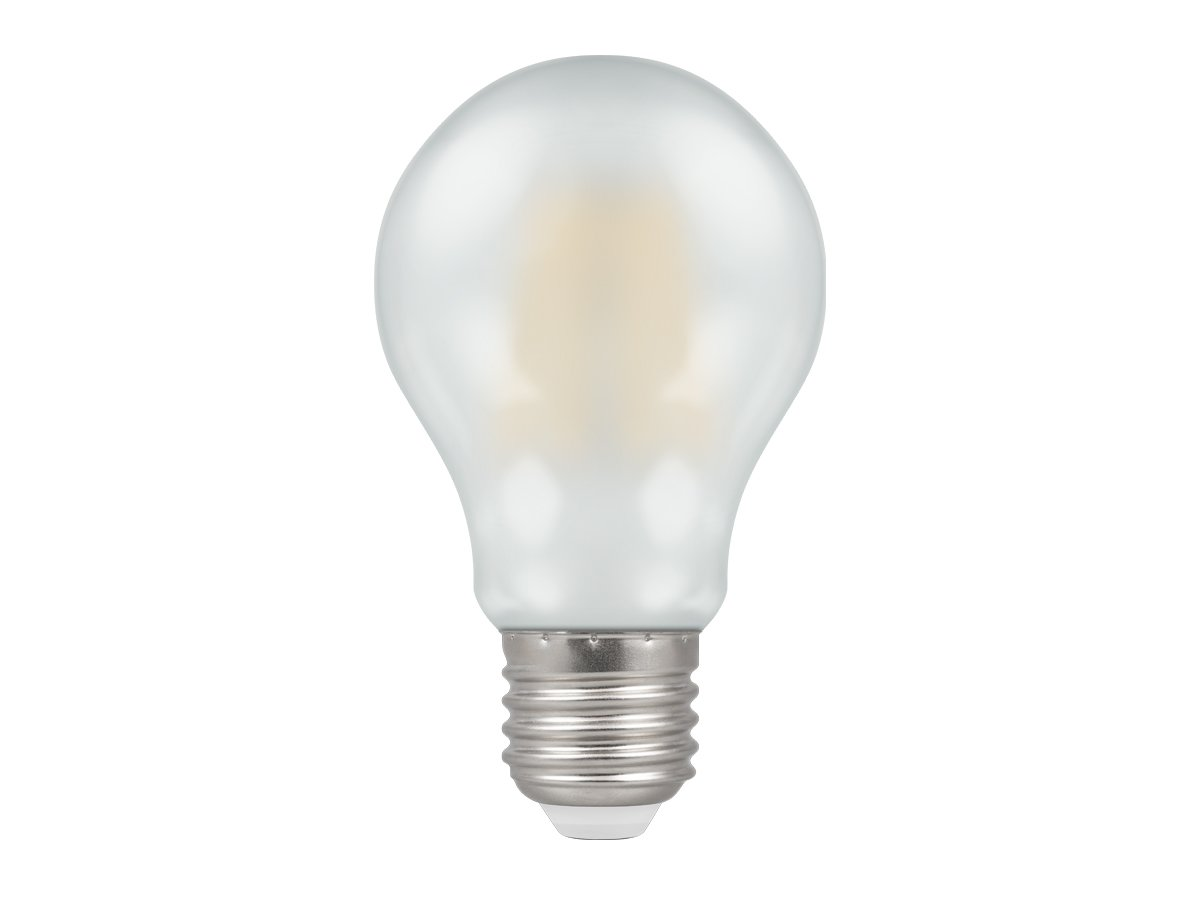 7.5w ES/E27 GLS Dimmable LED Filament Pearl Crompton