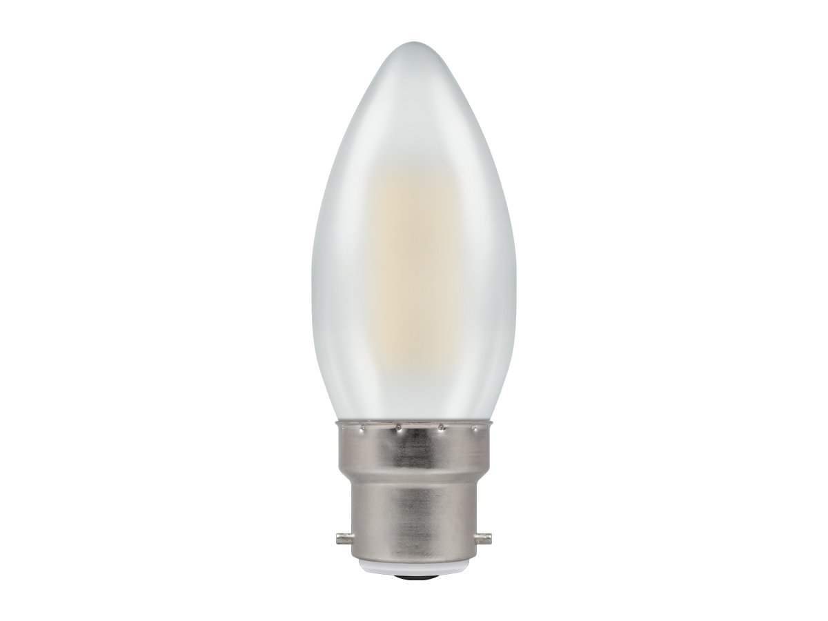 5w BC/B22d Dimmable Candle LED Pearl Filament Crompton